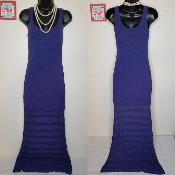 Victoria's Secret Dresses & Skirts - Victoria Secret Blue Maxi Beach Sun Dress - Small